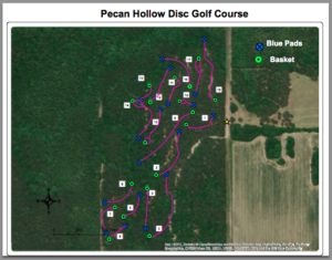 Pecan Hollow Map